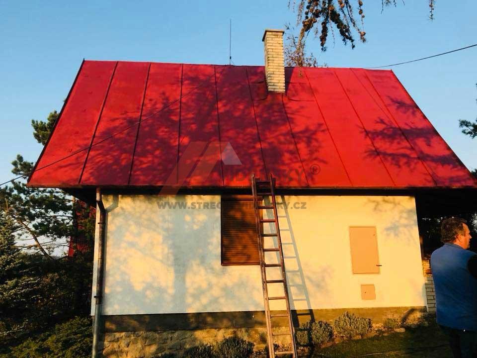 Vídenský | Renovační nátěr plechové střechy 01 - Po renovaci