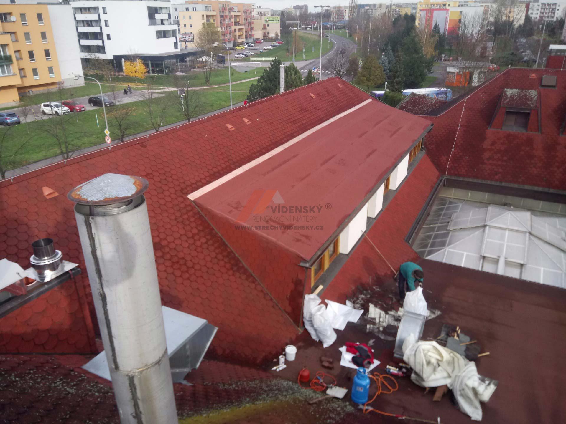 Vídenský   Renovační nátěr šindele 01 - Po renovaci