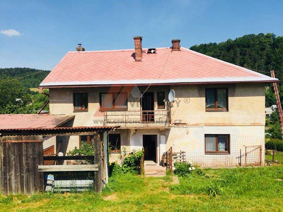 Vídenský | Renovační nátěr eternitové střechy 01 - Vyčištěná střecha