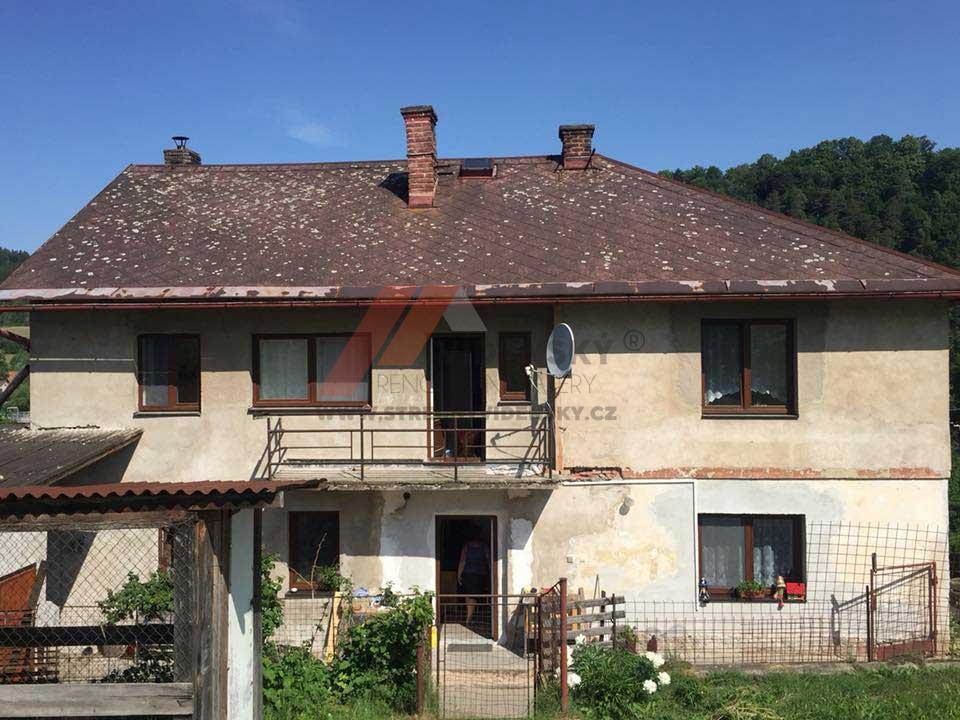 Vídenský | Renovační nátěr eternitové střechy 01 - Původní stav