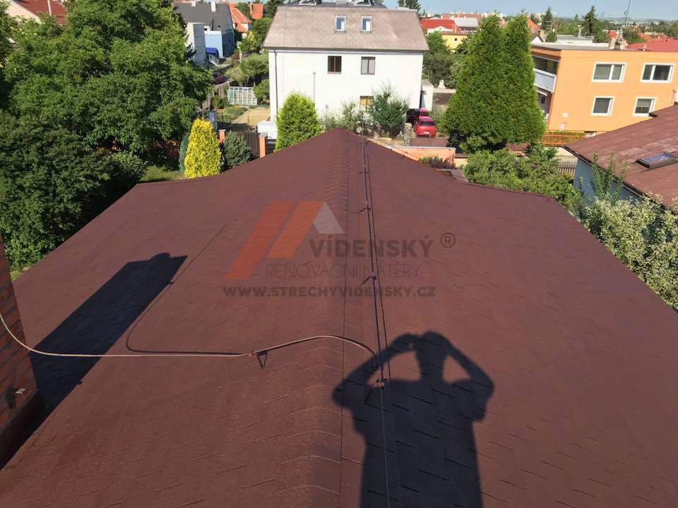 Vídenský   Renovační nátěr šindele 03 - Po renovaci