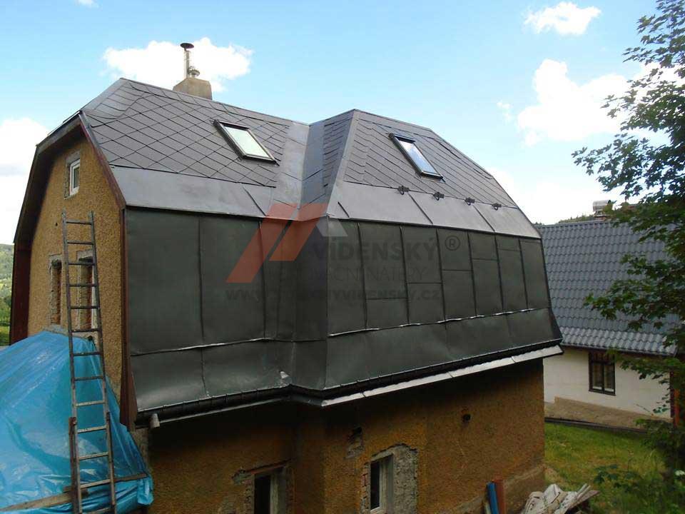 Vídenský | Renovační nátěr eternitové střechy 03 - Po nátěru