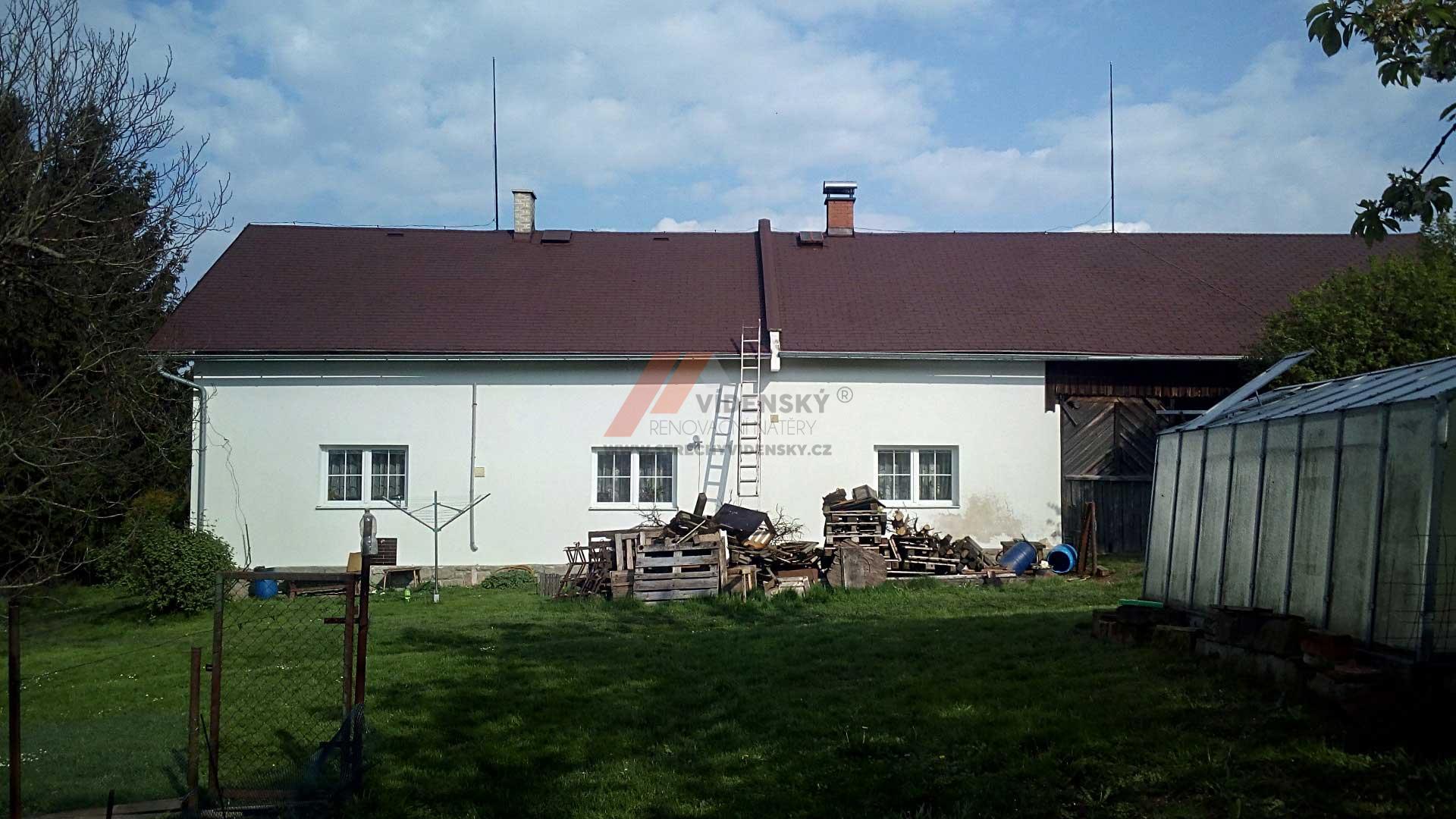 Vídenský   Renovační nátěr šindele 04 - Po renovaci