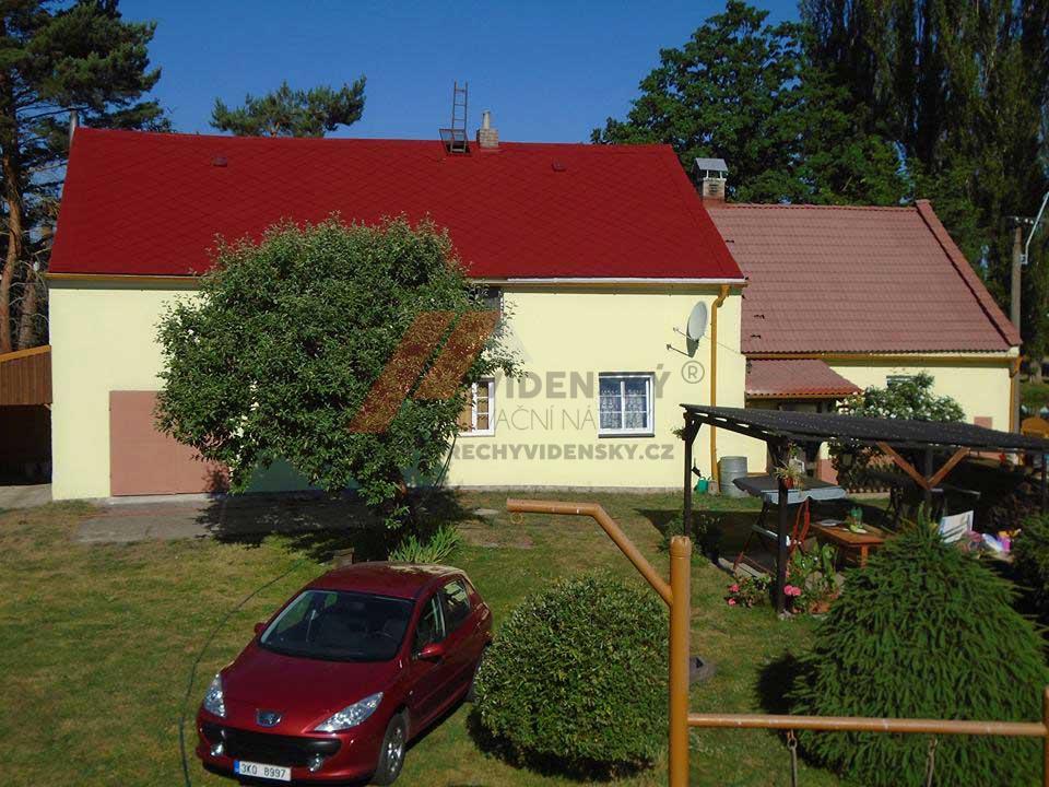 Vídenský | Renovační nátěr eternitové střechy 05 - Červený odstín