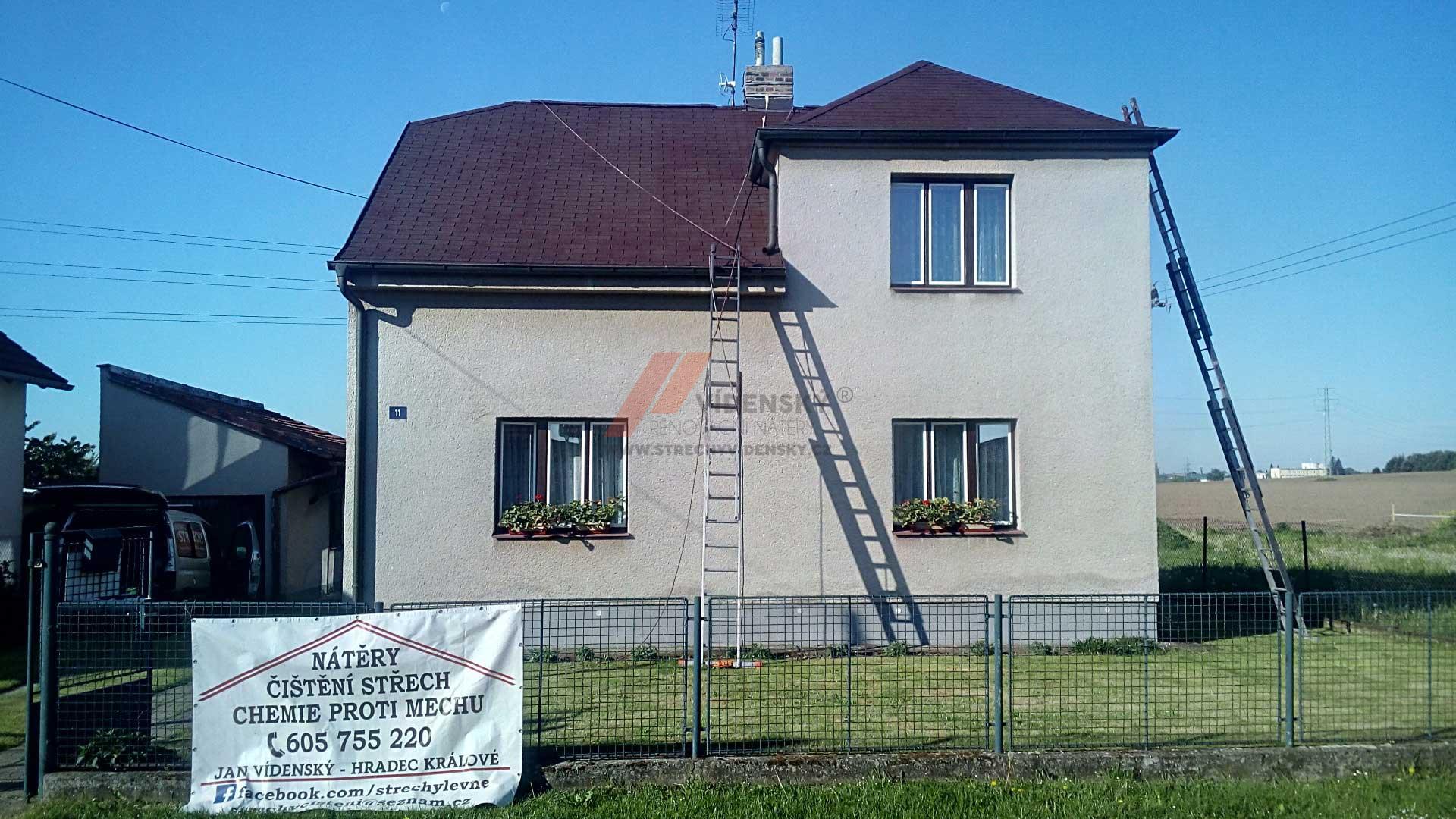 Vídenský   Renovační nátěr šindele 05 - Po renovaci