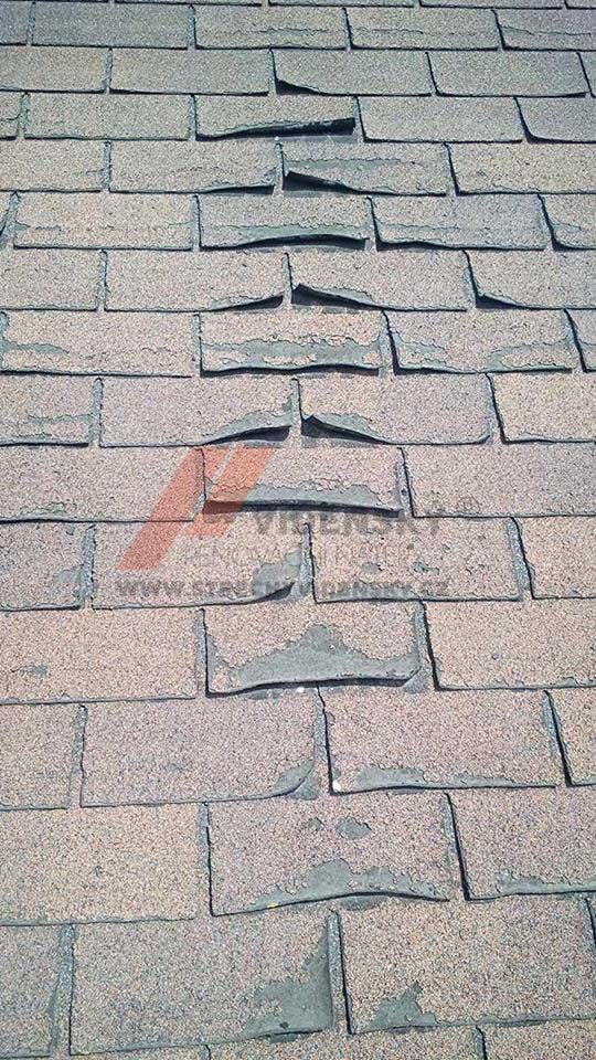 Vídenský   Renovační nátěr šindele 05 - Původní stav