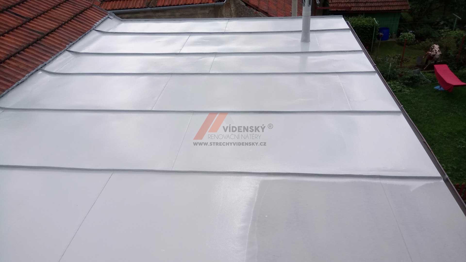 Vídenský | Renovační nátěr plechové střechy 06 - Po renovaci