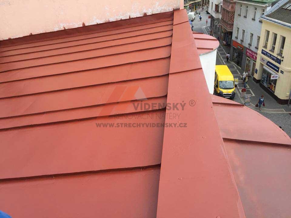 Vídenský | Renovační nátěr plechové střechy 08 - Po renovaci