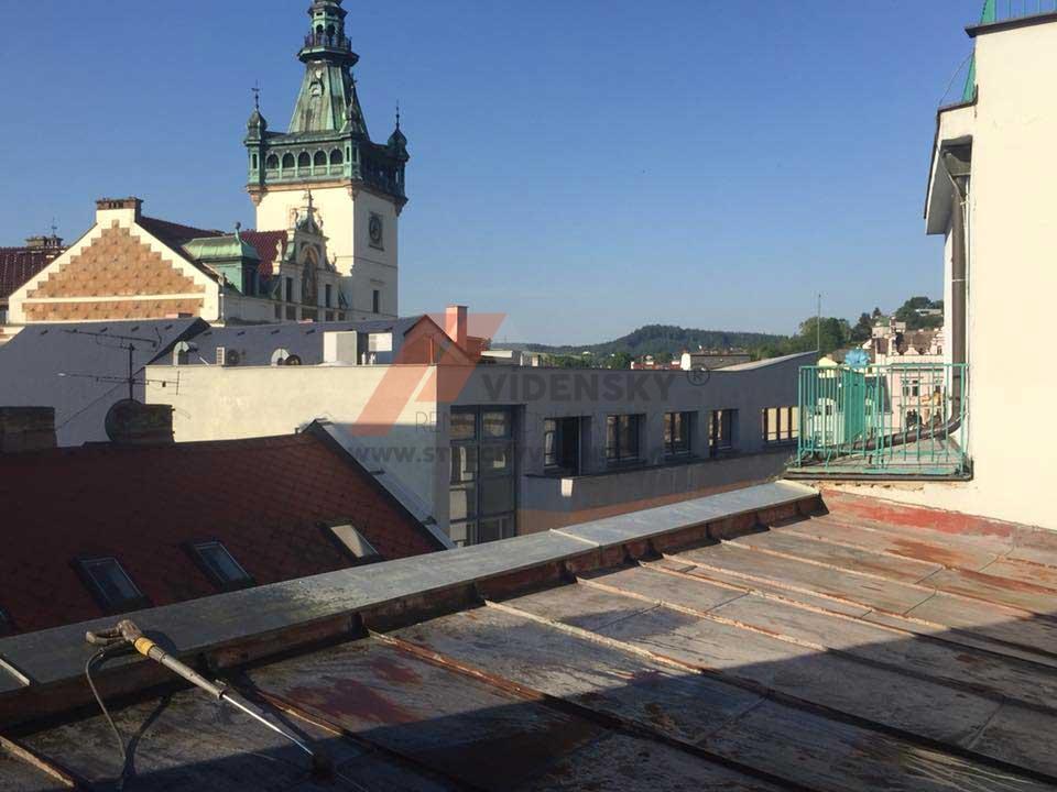 Vídenský | Renovační nátěr plechové střechy 08 - Původní stav