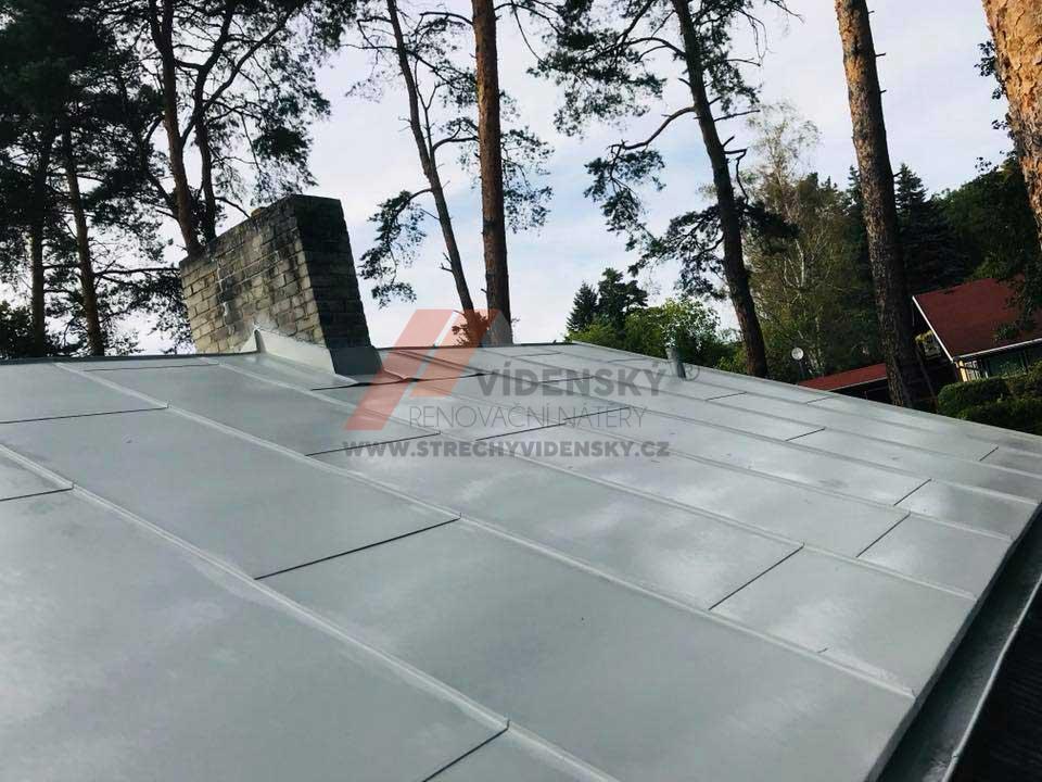 Vídenský | Renovační nátěr plechové střechy 11 - Po renovaci