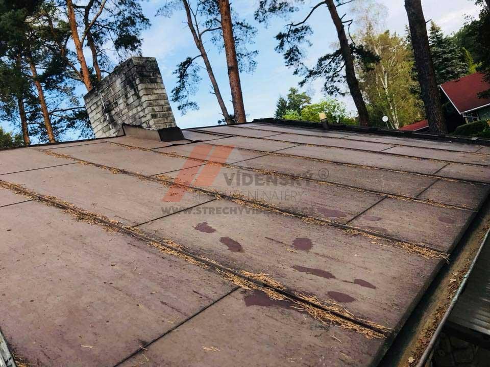 Vídenský | Renovační nátěr plechové střechy 11 - Původní stav