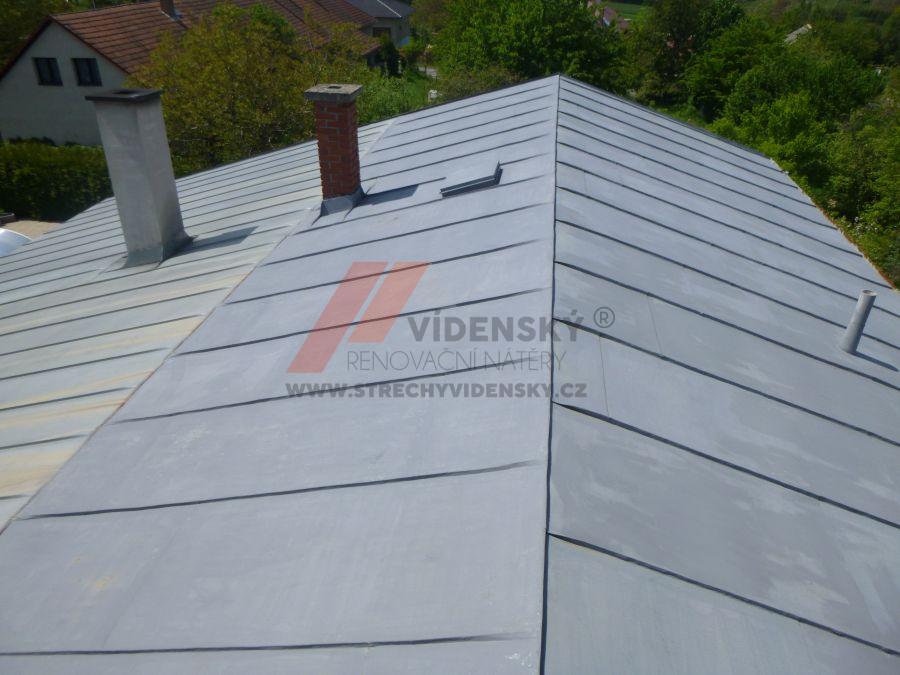 Vídenský | Renovační nátěr plechové střechy 12