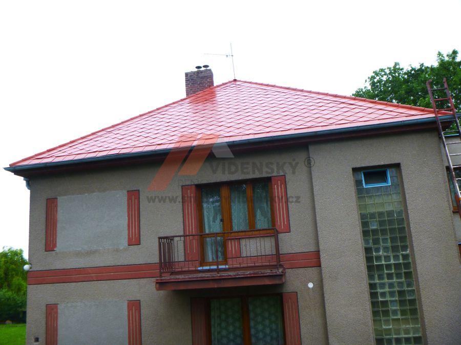 Vídenský | Renovační nátěr eternitové střechy 08